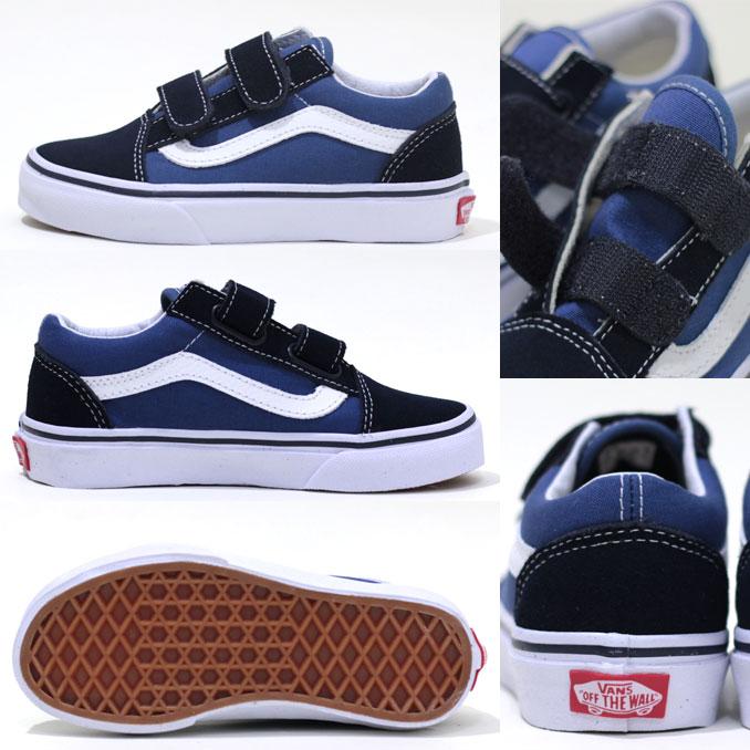 navy blue kids vans