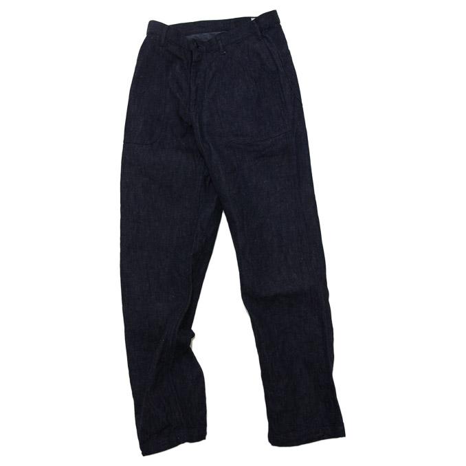 BONCOURA(塔克)贝克裤子粗斜纹布