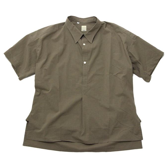 タタミゼ TATAMIZE Half Sleeve Shirt Brown 半袖シャツ