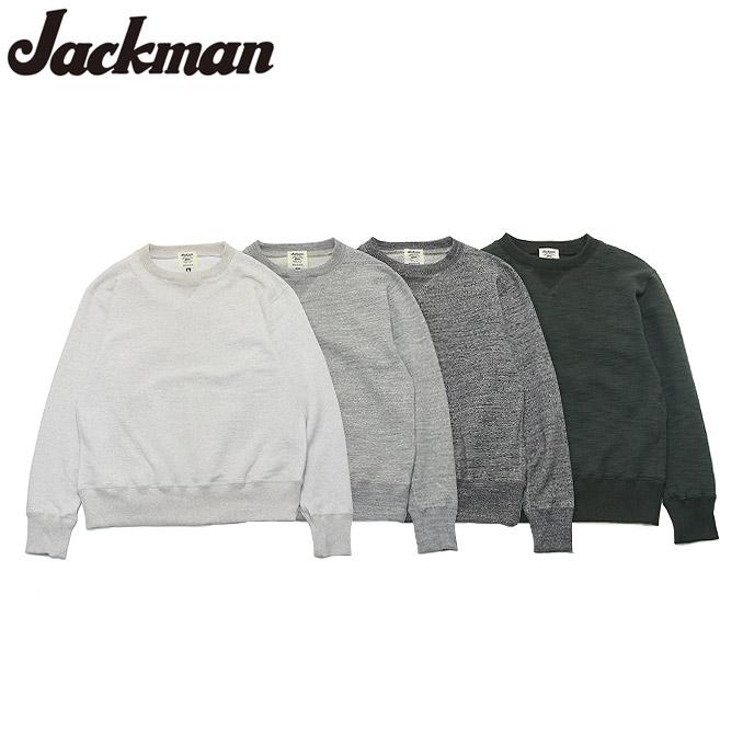 ジャックマン クルーネックスウェット Jackman JM7872 GG Sweat Crewneck 4color