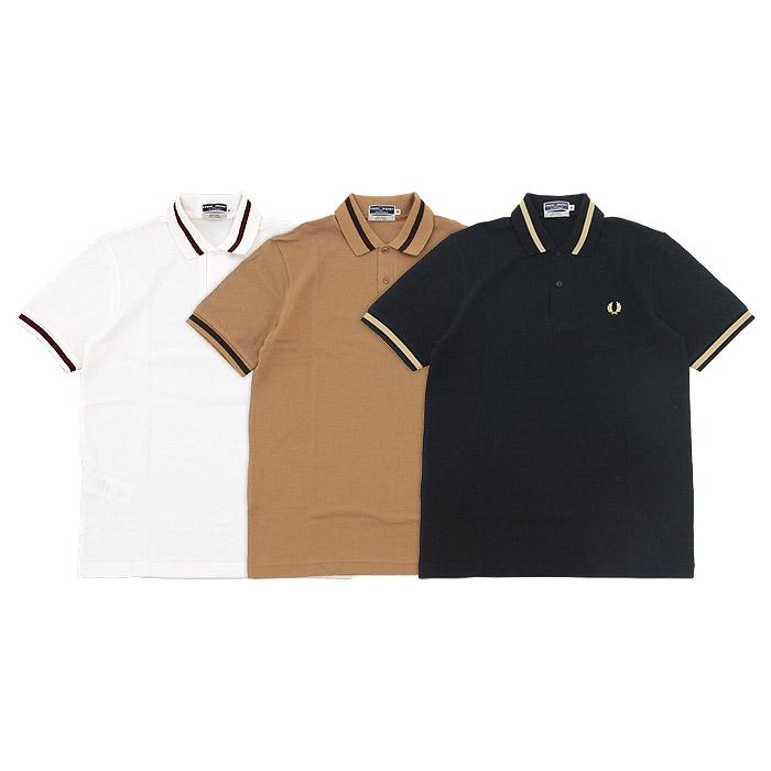 フレッドペリー シングルティップラインポロシャツ FRED PERRY 3color