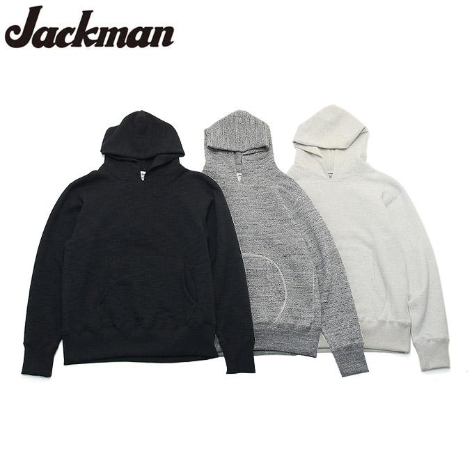 ジャックマン スウェットパーカー Jackman GG Sweat Parka JM7807 3color