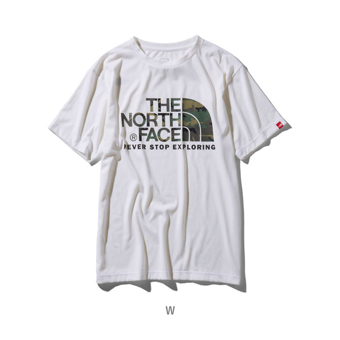 4d73c68fd North Face short sleeve camouflage logo tea men THE NORTH FACE S/S  Camouflage Logo Tee NT31932