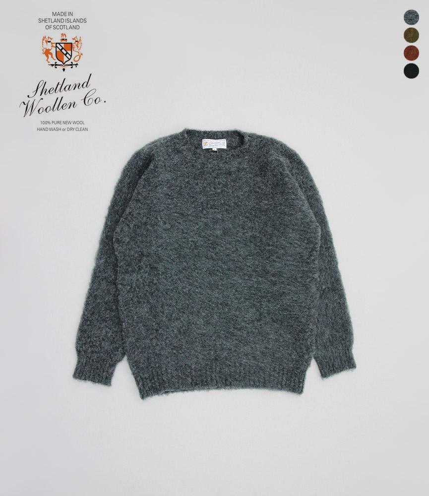 シェットランドウーレンコー クルーネックセーター SHETLAND WOOLLEN CO CREW NECK SWEATER