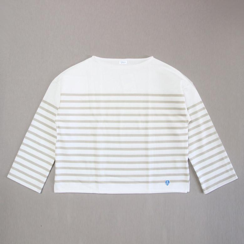 オーシバル ラッセルフレンチセーラードロップショルダーTシャツ ORCIVAL 6819 WOMEN オーチバル