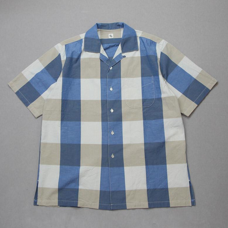キャプテンサンシャイン オープンカラーショートスリーブシャツ Kaptain Sunshine Open Collar S/S Shirt