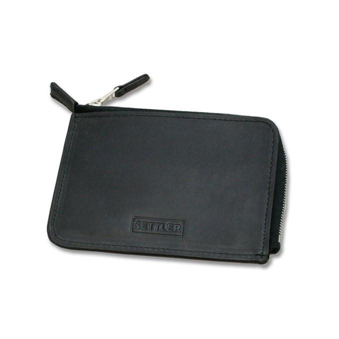 セトラー 小銭入れ 財布 SETTLER OW-2880 ZIP WALLET ブラック