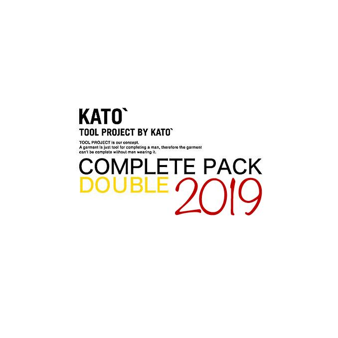 カトー デニム KATO' DENIM COMPLETE PACK DOUBLE コンプリートパックダブル ご予約商品