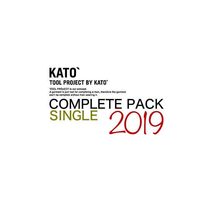 カトー デニム KATO' DENIM COMPLETE PACK SINGLE コンプリートパック シングル ご予約商品
