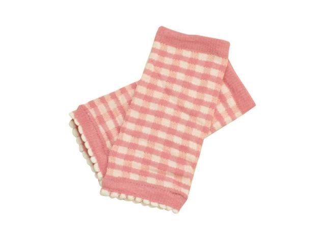 ベビー 赤ちゃん 幼児 供え コットン 結婚祝い 綿 シンプル かわいい レッグウォーマー チェック 100cm 95 90 85 柄 女の子 80 女児