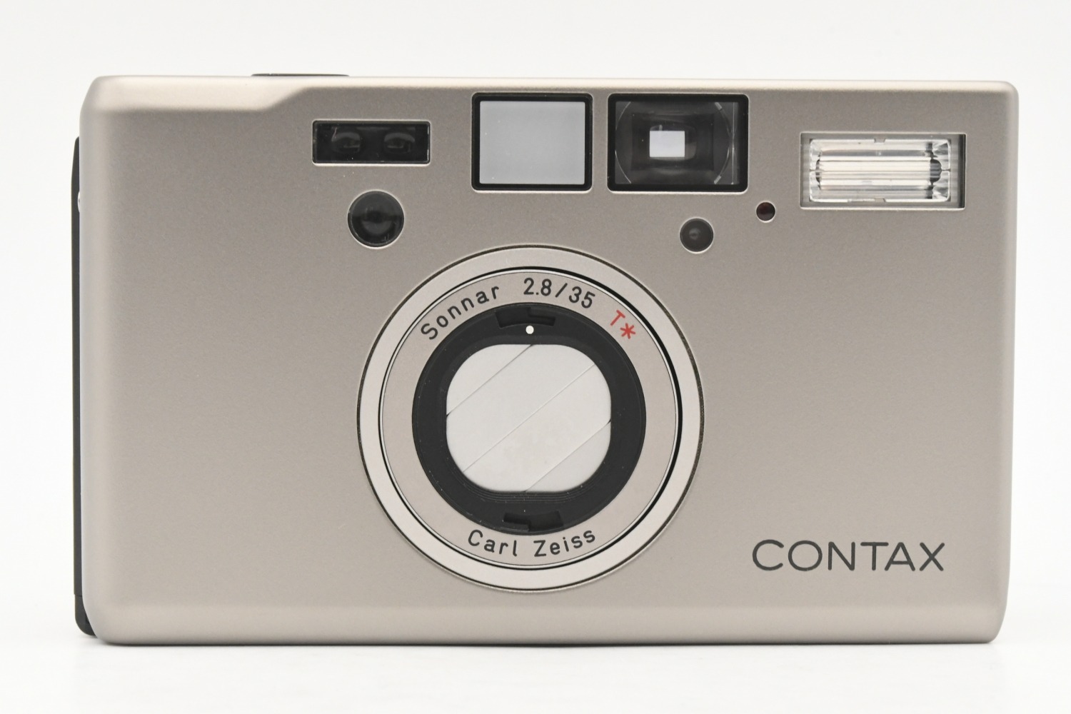 CONTAX コンタックス T3 Silver 後期 Carl Zeiss Sonnar 35mm F2.8 T* 【中古】
