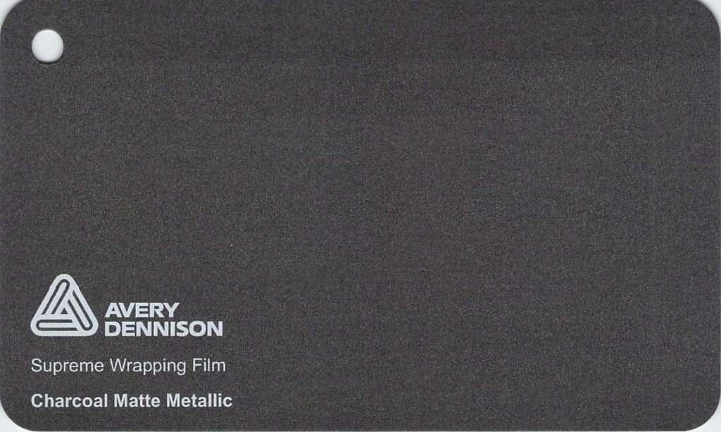 【最大2222円引クーポンあり】 エイブリィ デニソン カーラッピングシート カーラッピングフィルム  Supreme Wrapping Film(マットメタリックガンメタル) 152cm巾×1m 切り売り 販売 avery dennison  カッティングシート フリーカット 車