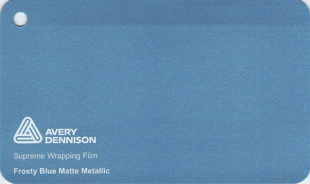 【クーポンでさらにお得!25,26日P5倍】エイブリィ デニソン カーラッピングシート カーラッピングフィルム  Supreme Wrapping Film(マットメタリックフロスティーブルー)152cm巾×1m 切り売り 販売 avery dennison  カッティングシート 車 SSL-CW