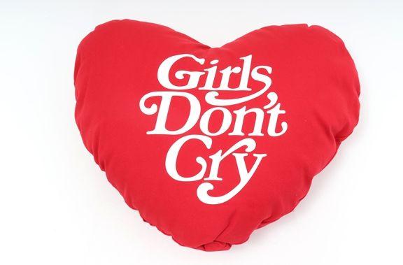 【3月23日に値下げ】WASTED YOUTH Girls Don't Cryハートクッション新品【MZCA46604】【赤】【】【未使用】【2点以上同時購入で送料無料】【DM180310】