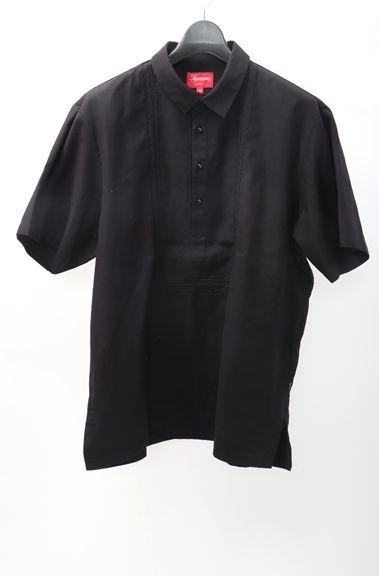 高い品質 【6月13日に値下げ】SUPREMEシュプリーム 2016SS Indo Shirt半袖プルオーバーインドシャツ【MSHA48407】【ブラック】【XL】【未使用】【2点以上同時購入で送料無料】【DM180804】, もみじ饅頭のやまだ屋 caef3b51