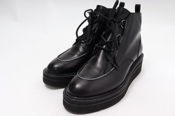 サルトルSARTORE L'Appartementアパルトモン購入Laceup Short Bootsレースアップショートブーツ【LFWA56908】【ブラック】【36】【中古】【2点以上同時購入で送料無料】【DM190817】