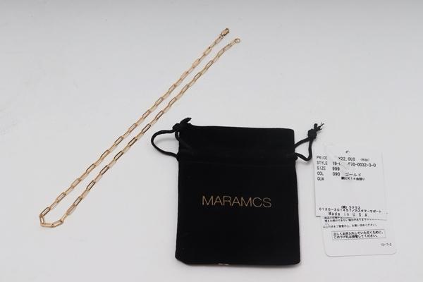 【スーパーSALE期間中ポイント5倍!!】【6月4日に値下げ】MARA CARRIZO SCALISE L'Appartementアパルトモン購入2019 Chain ネックレス新品【LACA58420】【ゴールド】【フリー】【未使用】【2点以上同時購入で送料無料】【DM200408】