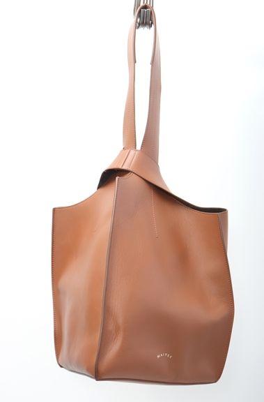 MAIYETマイエット L'Appartementアパルトモン購入2017 Leather Bagレザーバッグ【LBGA50221】【キャメルブラウン】【】【中古】【2点以上同時購入で送料無料】【Dm181010】