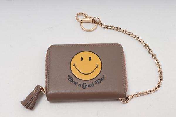 GOOD GRIEF!グッドグリーフ L'Appartementアパルトモン購入2020SS compact purseコンパクトパース財布【LZCA60823】【ベージュ】【フリー】【中古】【2点以上同時購入で送料無料】【DM200809】