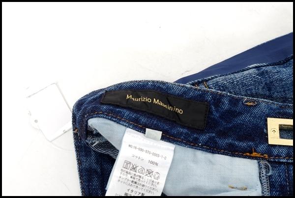 6月4日に値下げ アパルトモンL'Appartement MAURIZIO MASSIMOライン入りクロップドデニム LDNA35424インディゴ402点以上同時購入で送料無料DM160713DbeWHEI2Y9