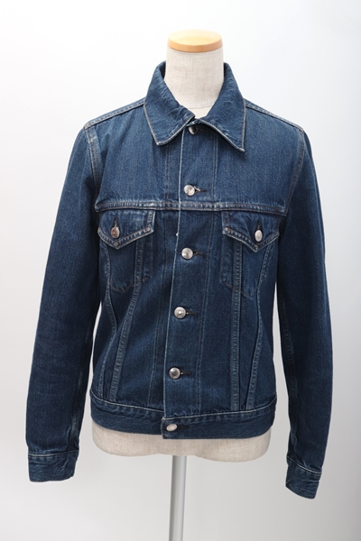【4月18日に値下げ】【4月11日に値下げ】HYKEハイク Denim jacket type3 デニムジャケット Gジャン【LJKA55626】【インディゴウォッシュ】【2】【中古】【2点以上同時購入で送料無料】【DM190413】