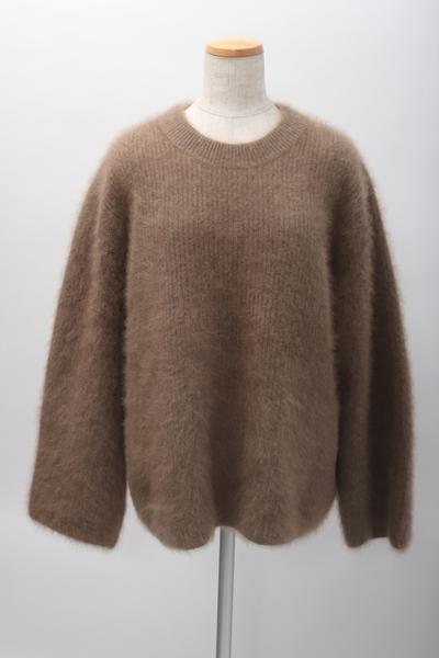 AP STUDIO(アパルトモンL'Appartement) 2018 Light Fur プルオーバー モヘアニット【LKNA59740】【ベージュ】【フリー】【中古】【2点以上同時購入で送料無料】【DM200401】