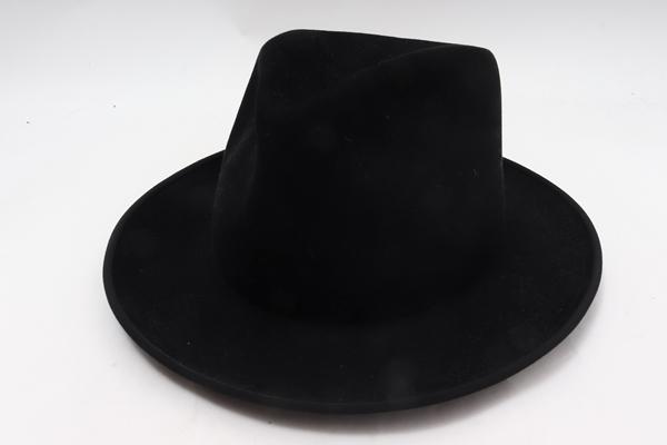 SUPER DUPER HATS L'Appartementアパルトモン購入Mens brimmed Hatメンズブリムハット新品【LHWA59543】【ブラック】【57】【未使用】【2点以上同時購入で送料無料】【DM200314】
