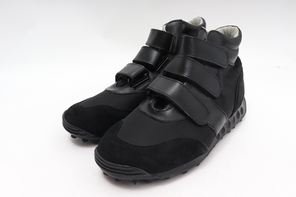 ドイツ軍 German Trainer Pilot Velcro Shoesジャーマントレイナーパイロットベロクロシューズスニーカー未使用品【MFWA59456】【黒】【42(27cm)】【未使用】【2点以上同時購入で送料無料】【DM200229】