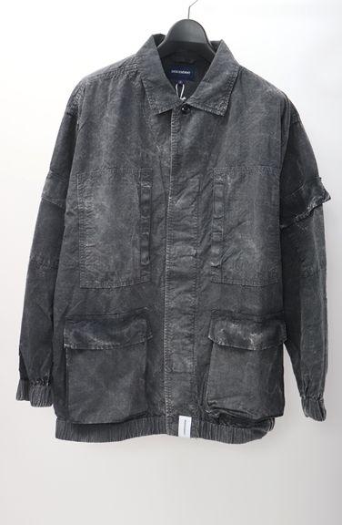 DESCENDANTディセンダント 2018AW DWU RIPSTOP LS SHIRTシャツ新品【MSHA50664】【ブラック】【2(M)】【未使用】【2点以上同時購入で送料無料】【DM181031】