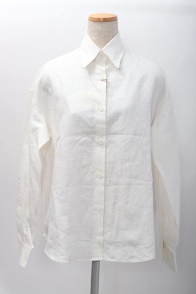 LisiereアパルトモンL'Appartement 2WAYカシュクールリネンシャツ 毎週更新 LSHA59468 シロ フリー DM200229 日本メーカー新品 中古 2点以上同時購入で送料無料