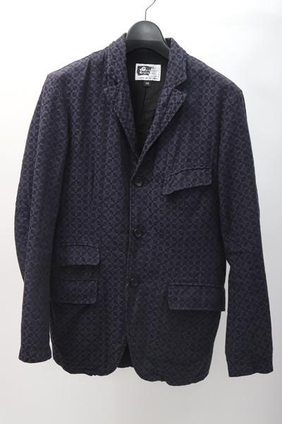エンジニアードガーメンツEngineered Garments 全国どこでも送料無料 コットンアンドーバージャケット MJKA59473 ネイビー XS 中古 ブランド激安セール会場 DM200229 2点以上同時購入で送料無料