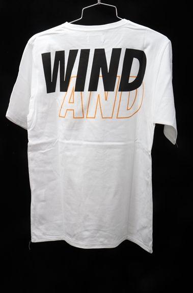 WIND AND SEAウィンダンシー ×Saturdays NYCサタデーズ ニューヨーク 限定Tシャツ新品【MTSA49998】【ホワイト】【M】【未使用】【2点以上同時購入で送料無料】【DM180829】