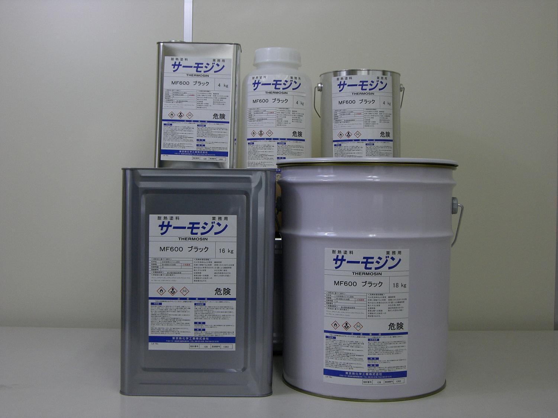 耐熱 耐酸塗料 サーモジン チムニ300 18Kg