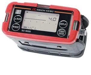 理研計器 ポータブルガスモニター SC-8000 乾電池