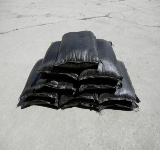 川砂入り土のう 防水名人 プットブロック 10kg 10個