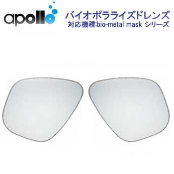 アポロ apollo bio polarized lens バイオポラライズドレンズ 左右用2枚一組 偏光レンズ   メーカー在庫確認します