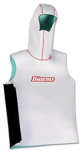 ウェットスーツ 防寒 BIARMSバイアームス フードベスト スタンダードジャージ (カラーブラックのみ) ウエットスーツ ダイビング シュノーケリング サーフィン ボディボード メンズ レディース