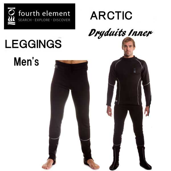 fourth element フォースエレメント ARCTIC メンズ レギンス 男性 アークティック インナー ドライスーツ用 【XT500L】 男性 防寒 MU-1251 ダイビング 冬 【送料無料】 メーカー在庫確認します