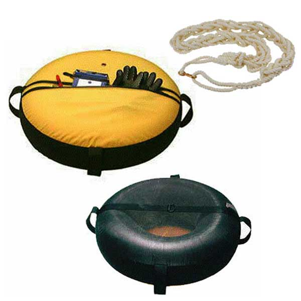 フロートチューブカバーセットDX ダイビング用 インナーチューブ カバー アンカーロープ