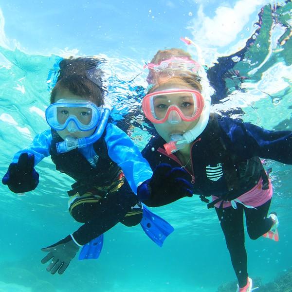 叶子医治者为浮潜潜水呼吸管和面罩 2 点集的硅胶 ■ 男女皆宜 ■ (RC-1116Q) 市场乐天排名奖产品