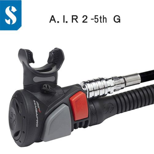 A.I.R.2/5th G. エアー2 BCインフレーターとオクトパス を一体化 【送料無料】 スキューバプロ 21.090.000 ダイビング 重器材