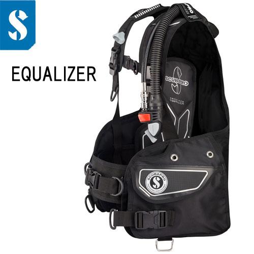 スキューバプロ(Sプロ) EQUALIZER BCD エコライザー エアー2装備 【送料無料】 A.I.R2-5th Generation