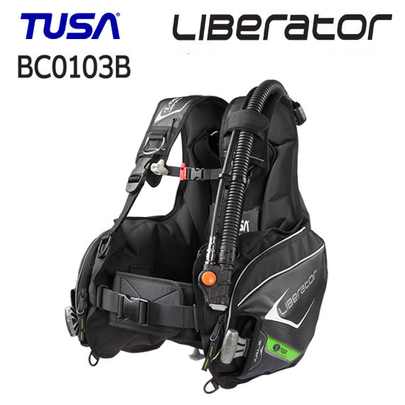 【あす楽対応】TUSA(ツサ) BC-0103B BCD Liberator リブレーター (BC0103B) 快適な使用感 ウエイトローディングシステム搭載 ダイビング 重器材 【送料無料】 スキューバダイビング スクーバ bcジャケット