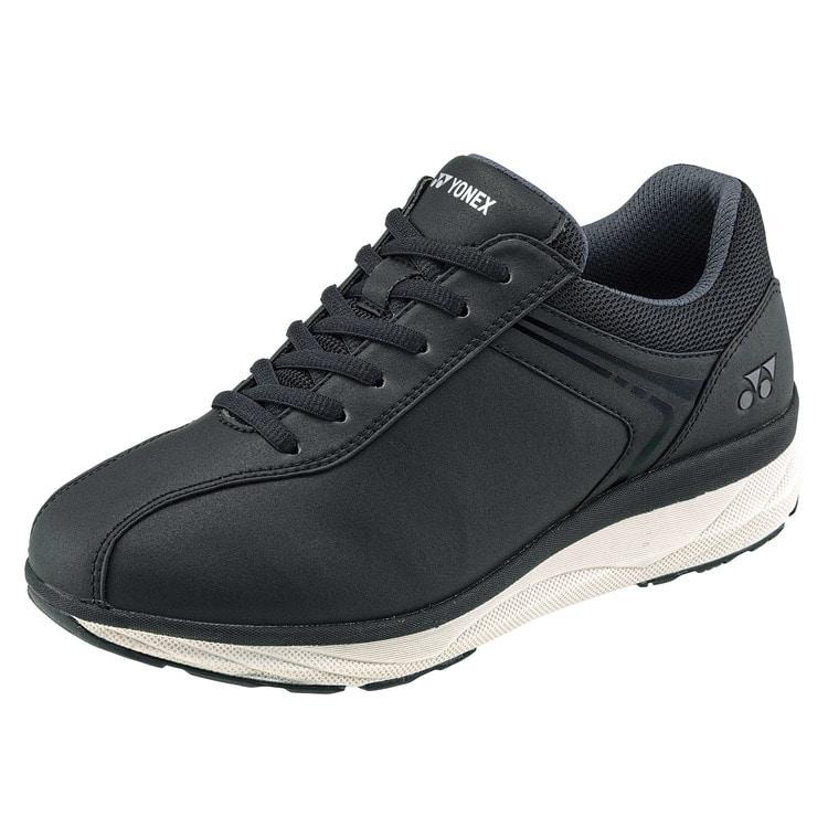 Seasonal Wrap入荷 YONEX ヨネックス 新作 人気 LC103 3.5E ウォーキングシューズ パワークッション レディース 3 980円以上で送料無料 定番 靴 撥水ストレッチPUレザー シンプル ブラック チャコール 疲れにくい シルバー ピンク 婦人靴 履きやすい ネイビー ファスナー 歩きやすい