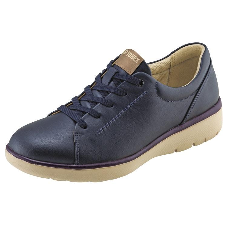 YONEX ヨネックス LC112 在庫あり 3.5E ウォーキングシューズ パワークッション レディース 3 980円以上で送料無料 人気 定番 靴 レッド ネイビー 婦人靴 疲れにくい ブラック 履きやすい 天然皮革 歩きやすい ファスナー シンプル 定番の人気シリーズPOINT(ポイント)入荷 パールグレージュ