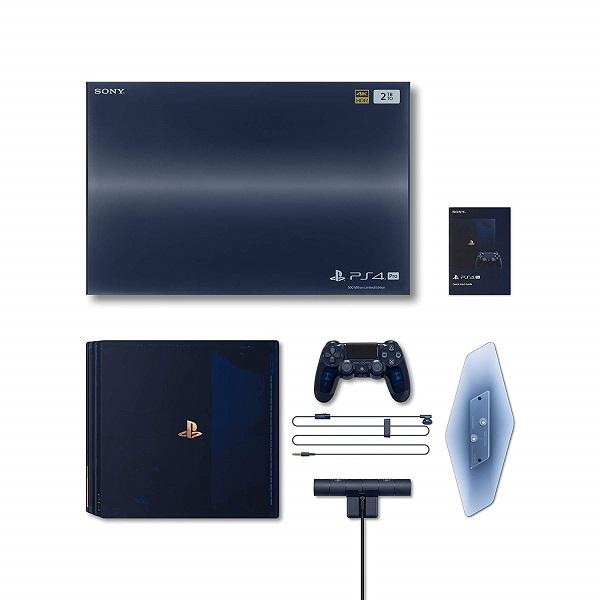 【あす楽】8/24発売【5万台限定】PlayStation 4 Pro 500 Million Limited Edition 2TB (CUH-7100BA50) ソニー★PS4プロ プレイステーション4 プロ ミリオン リミテッド エディション 4948872414678