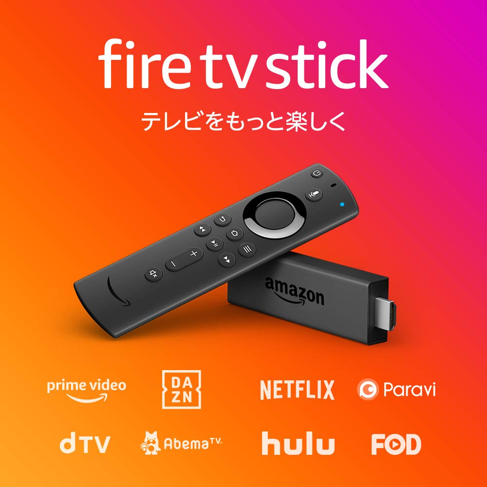 The Amazon Amazon (※ Okinawa, the remote island cost road 500 yen according  to the postage) attached to debut Amazon Fire TV Stick - Alexa-adaptive