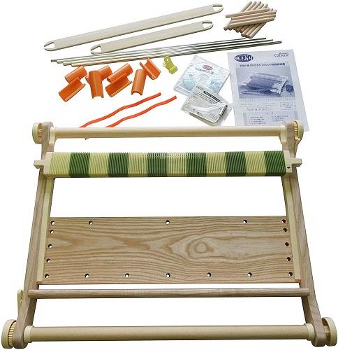 【送料無料】Clover 手織り機 咲きおり 60cm 40羽セット クロバー 57-952