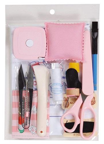 送料無料 ミササ 出色 ソーイングセット No.605-4 ピンク 袋入セット バースデー 記念日 ギフト 贈物 お勧め 通販