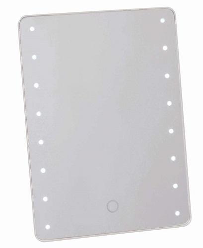 通信販売 送料無料 ブライトニングミラー タッチ ホワイト YLD-2500 高い素材